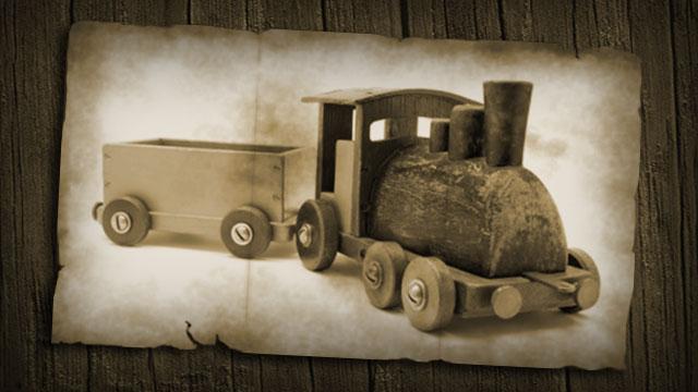 Hugo's Toy Train Set